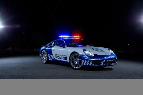 Porsche 991 Carrera New South Wales Australia Police