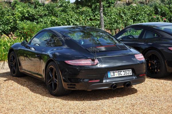 Porsche 991 Facelift 992
