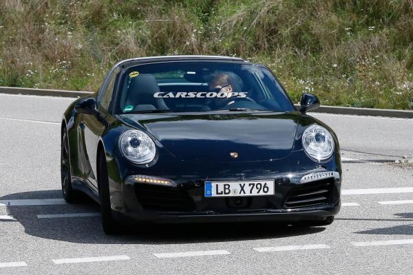 2016 porsche 911 targa fl1