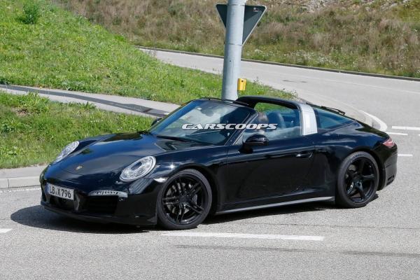 2016 porsche 911 targa fl4
