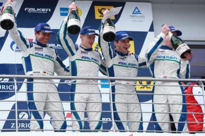 24h nurburgring porsche team falken motorsports wolf henzler alexandre imperatori martin ragginger peter dumbreck