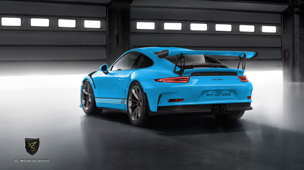 911 gt3 rs arrie re bleu riviera options