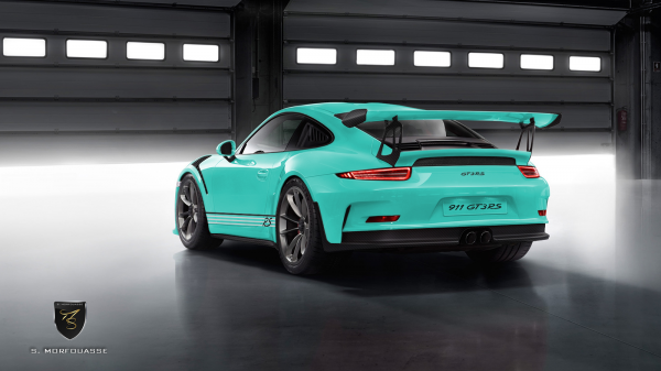 911 gt3 rs arrie re vert menthe options