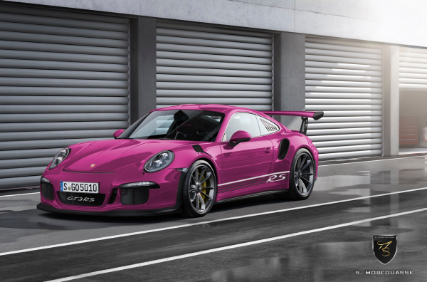 911 gt3 rs fushia options