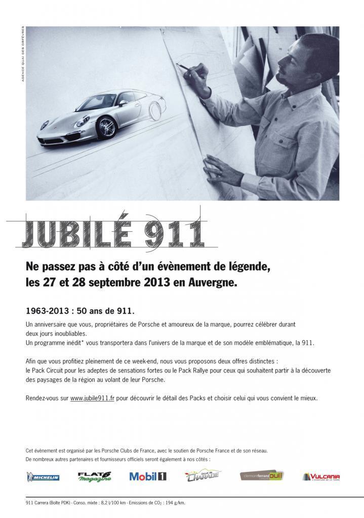 Affiche Jubilé 911