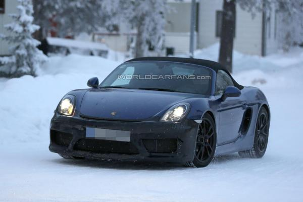 Boxster club sport front