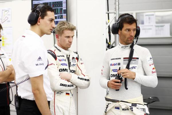 Nico Huelkenberg, Mark Webber