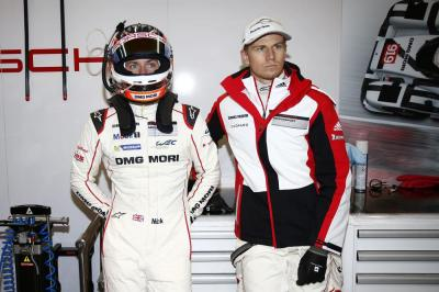 Porsche Team: Nick Tandy, Nico Huelkenberg