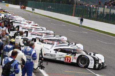 Porsche 919 Hybrid, #17 Timo Bernhard, Brendon Hartley, Mark Webber