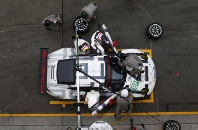 Porsche 911 RSR Richard Lietz Michael Christensen