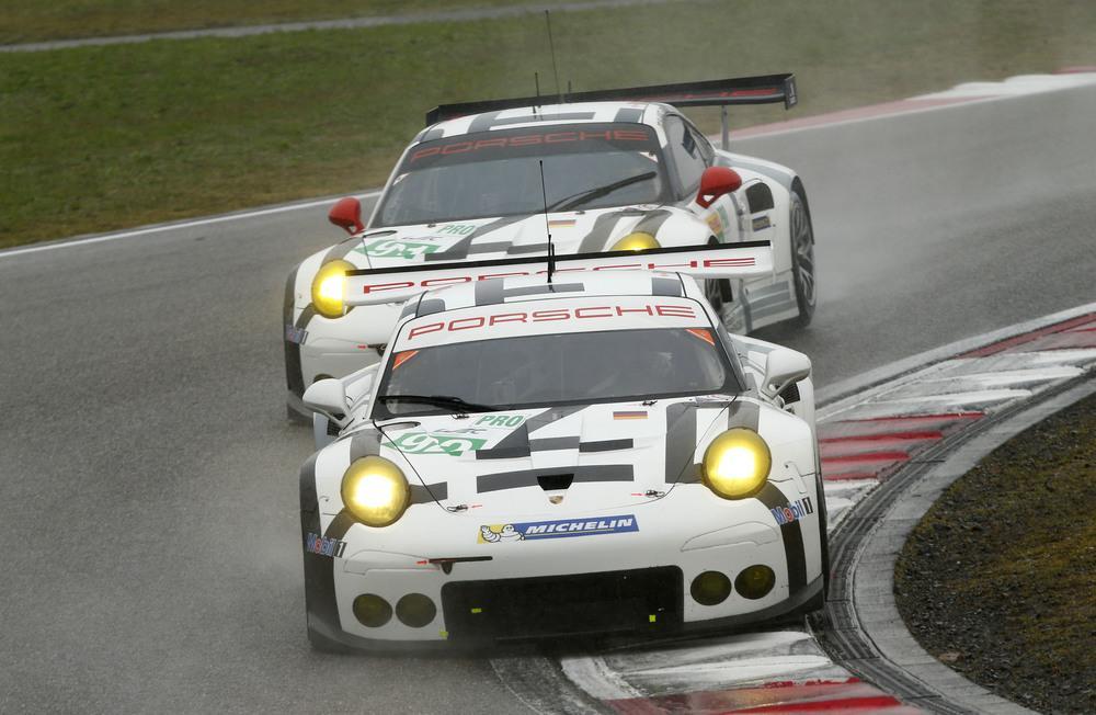 Porsche 911 RSR Pilet,Makowiecki Lietz,Christensen