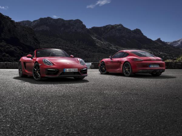 Porsche Boxster et Cayman