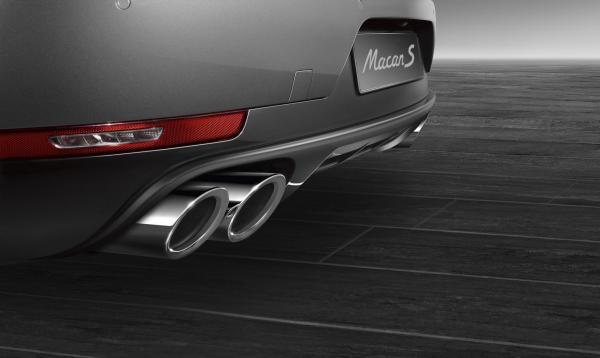 Porsche Macan S Diesel: Sports Exhaust System silver