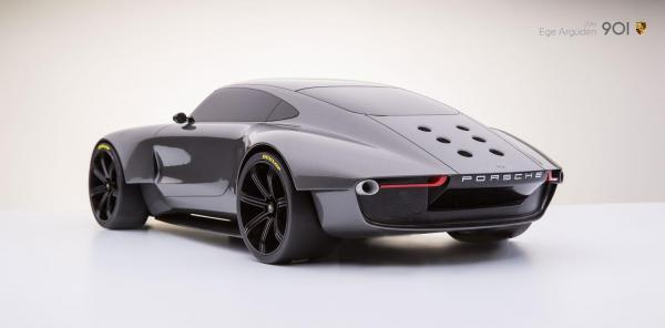 Porsche 901 concept by ege arguden scale model 03