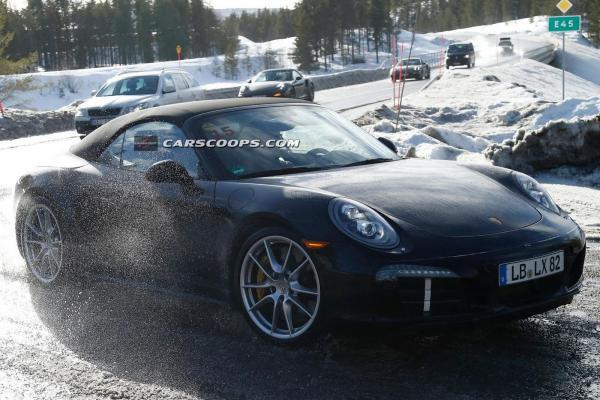 Porsche 911 convertible special 2