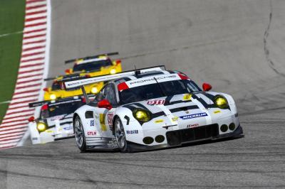 Porsche 911 rsr patrick pilet nick tandy