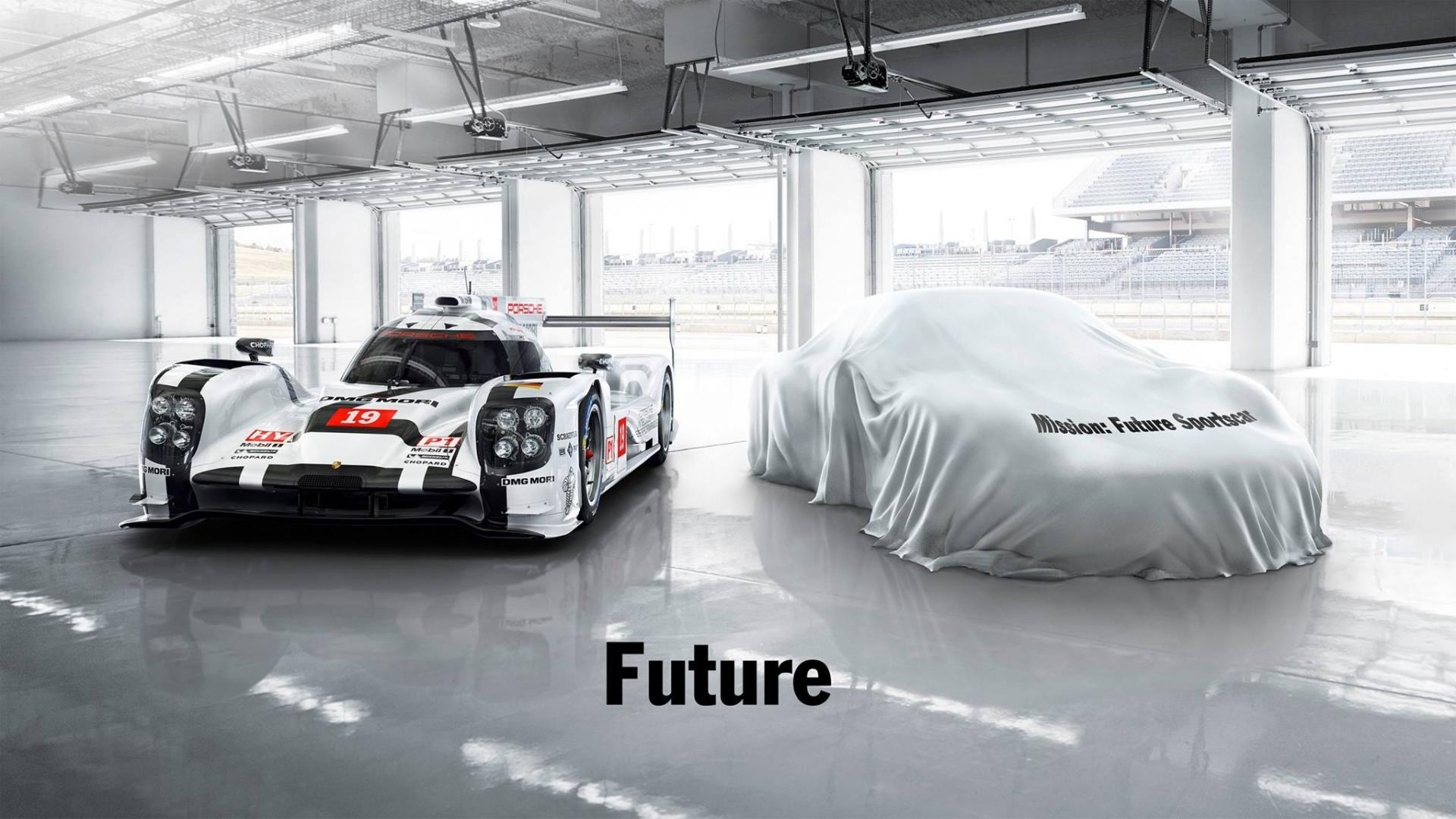 Porsche 919 hybrid and future sportscar