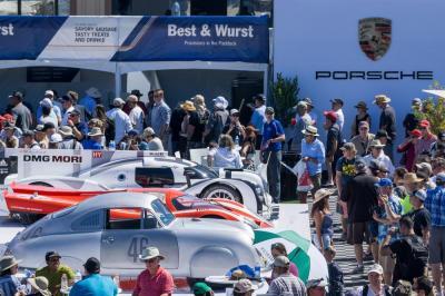 Porsche 919 hybrid et 917