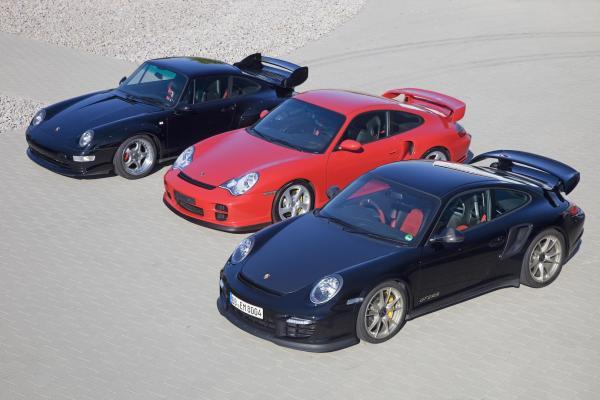 Porsche 993gt2 996gt2 997gt2rs