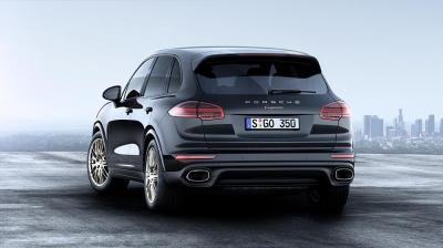 Porsche cayenne diesel platinum edition arrie re