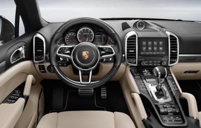 Porsche cayenne interior 2016