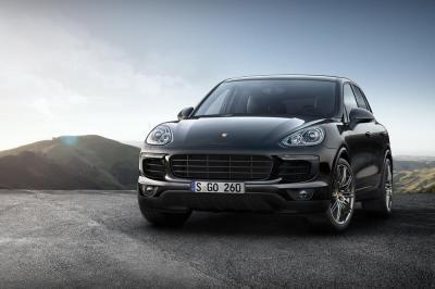 Porsche cayenne platinum edition cayenne s