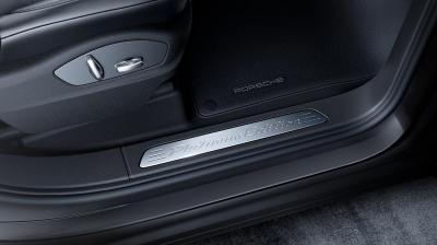 Porsche cayenne platinum edition seuil