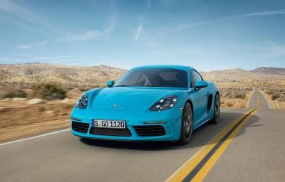 Porsche cayman 718 4