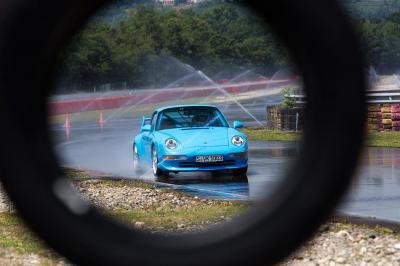 Porsche classic tyre testing 2