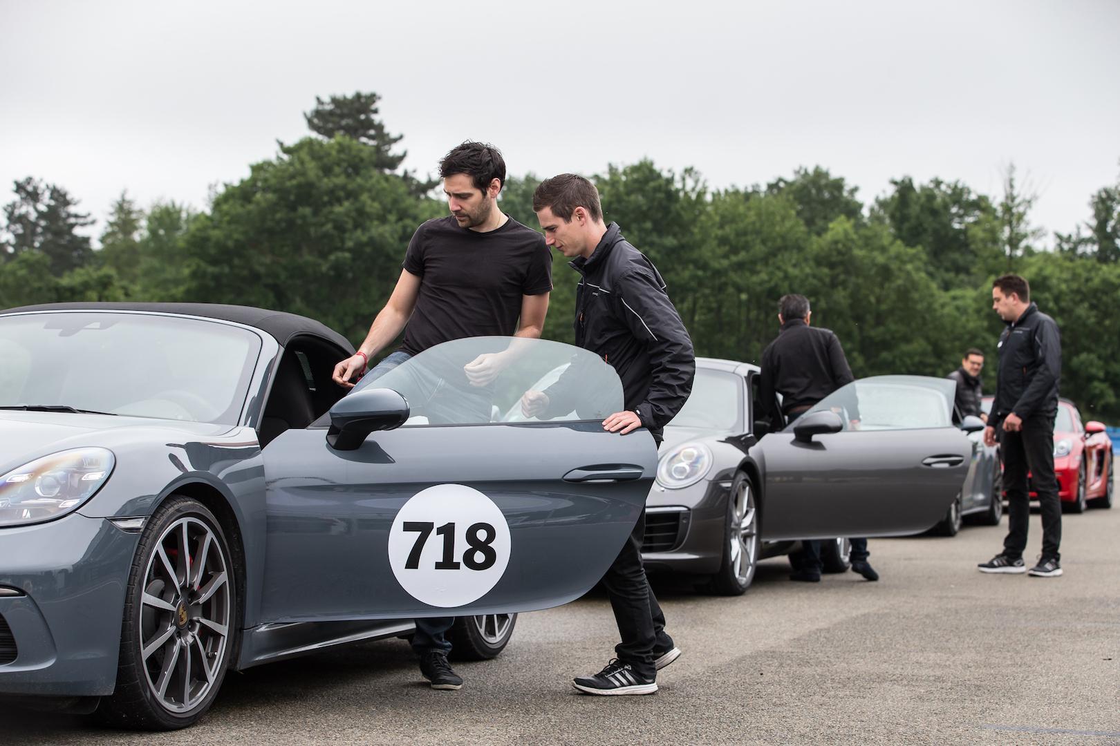 Porsche distribution roadshow itw 9