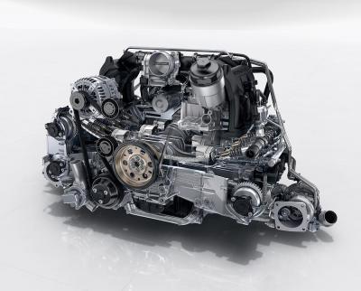 Porsche flat 6 3 litres turbo
