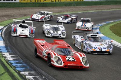 Porsche le mans heroes