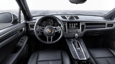 Porsche macan interior 2016