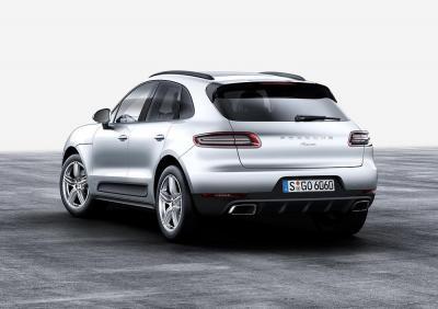 Porsche macan rear 2016