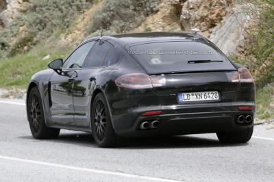 Porsche panamera phase 2 arrie re
