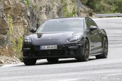 Porsche panamera phase 2 avant