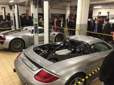 Porsche ve lizy nouvelle 991 les grises