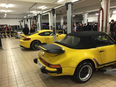 Porsche ve lizy nouvelle 991 les jaunes