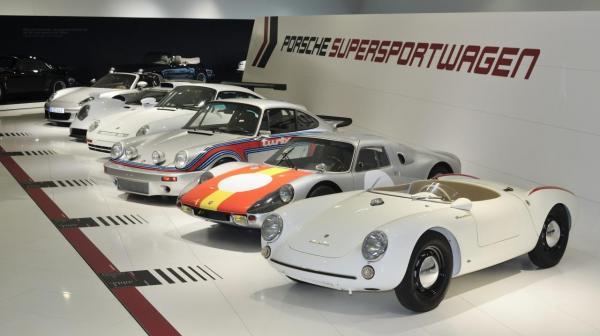 Actuellement au musée Porsche, 60 ans de super sportives, jusqu'au 17 mars 2014.