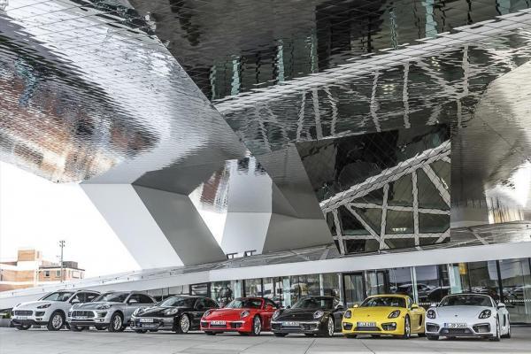 Porsche à louer à Stuttgart