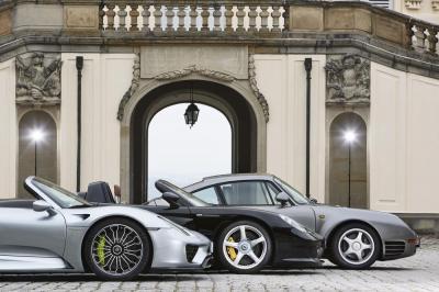 Porsche 918 Spyder, Porsche Carrera GT, Porsche 959