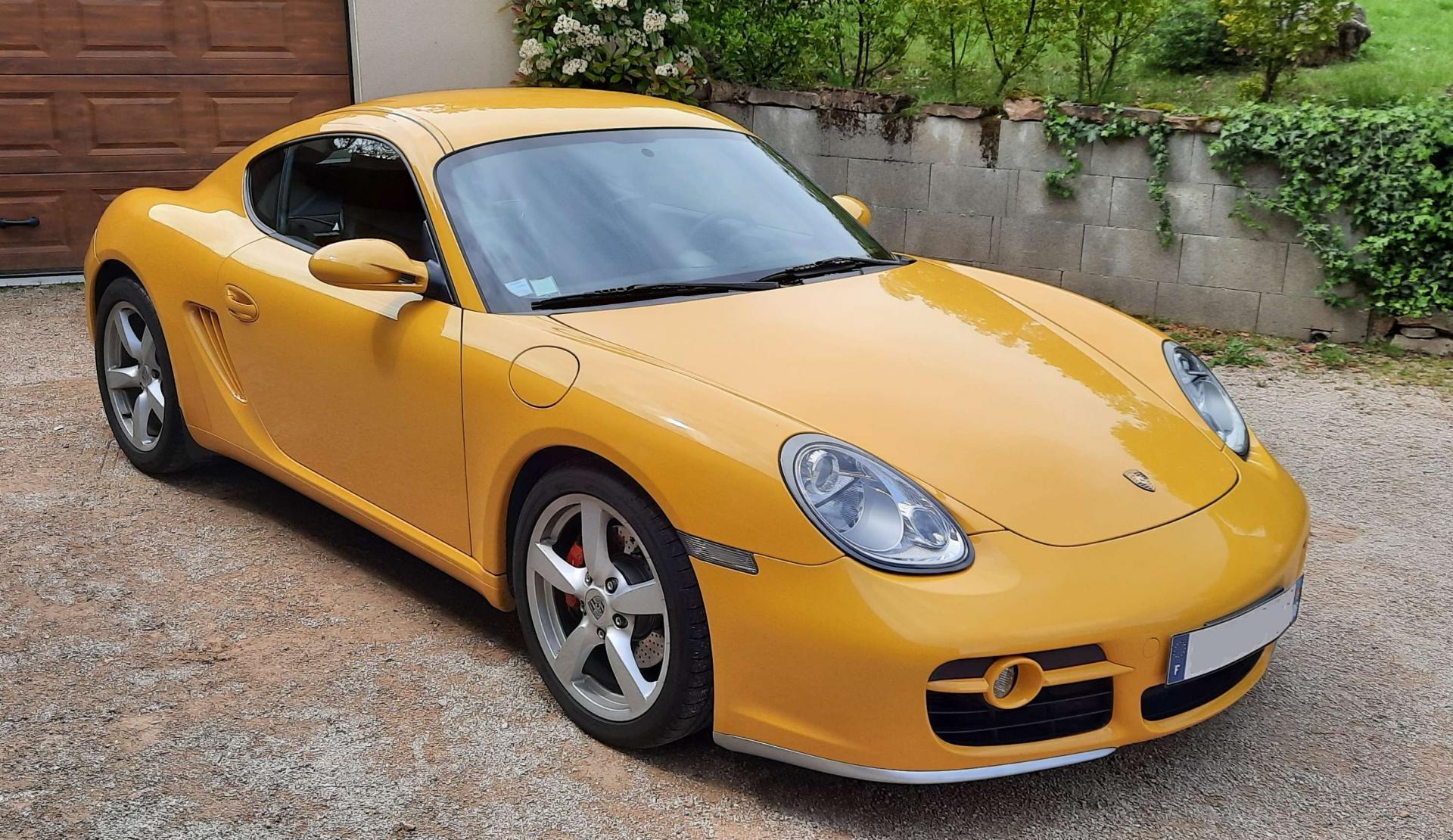 Porsche Cayman S (Cayman)
