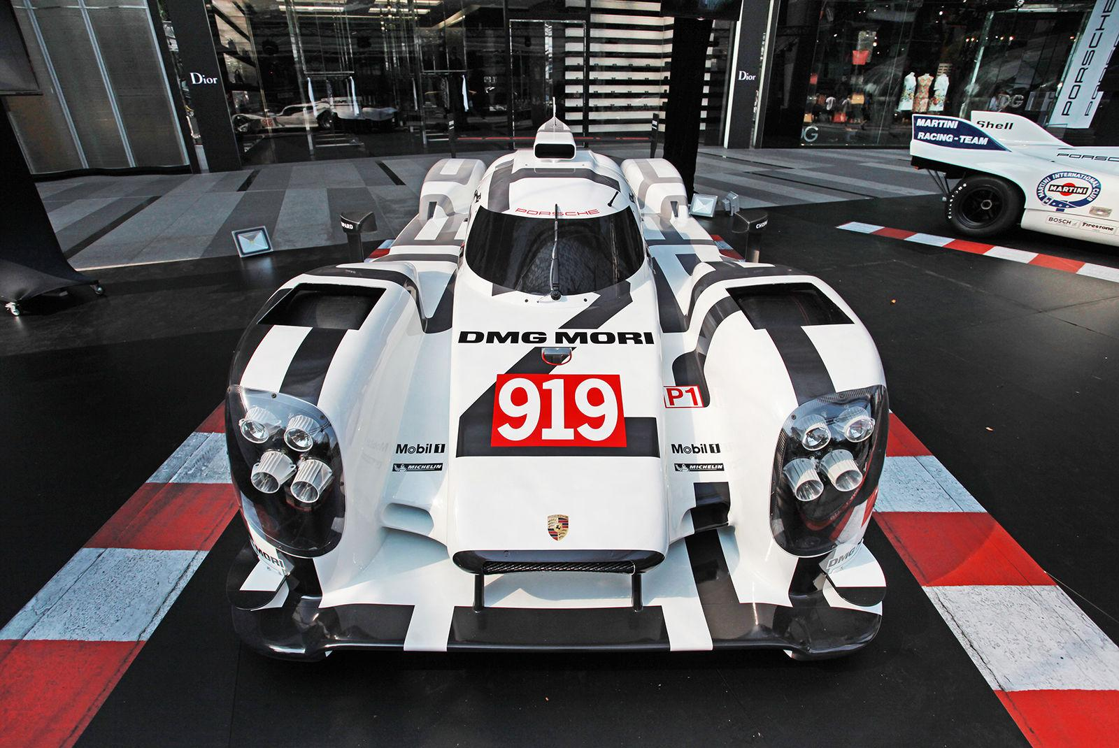 Porsche 919 Hybrid échelle 1:1