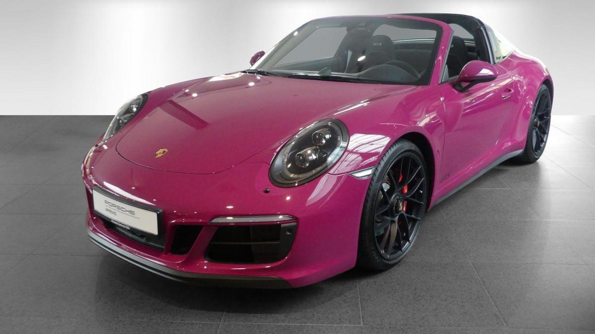 991 carrera 4 gts rouge rubis