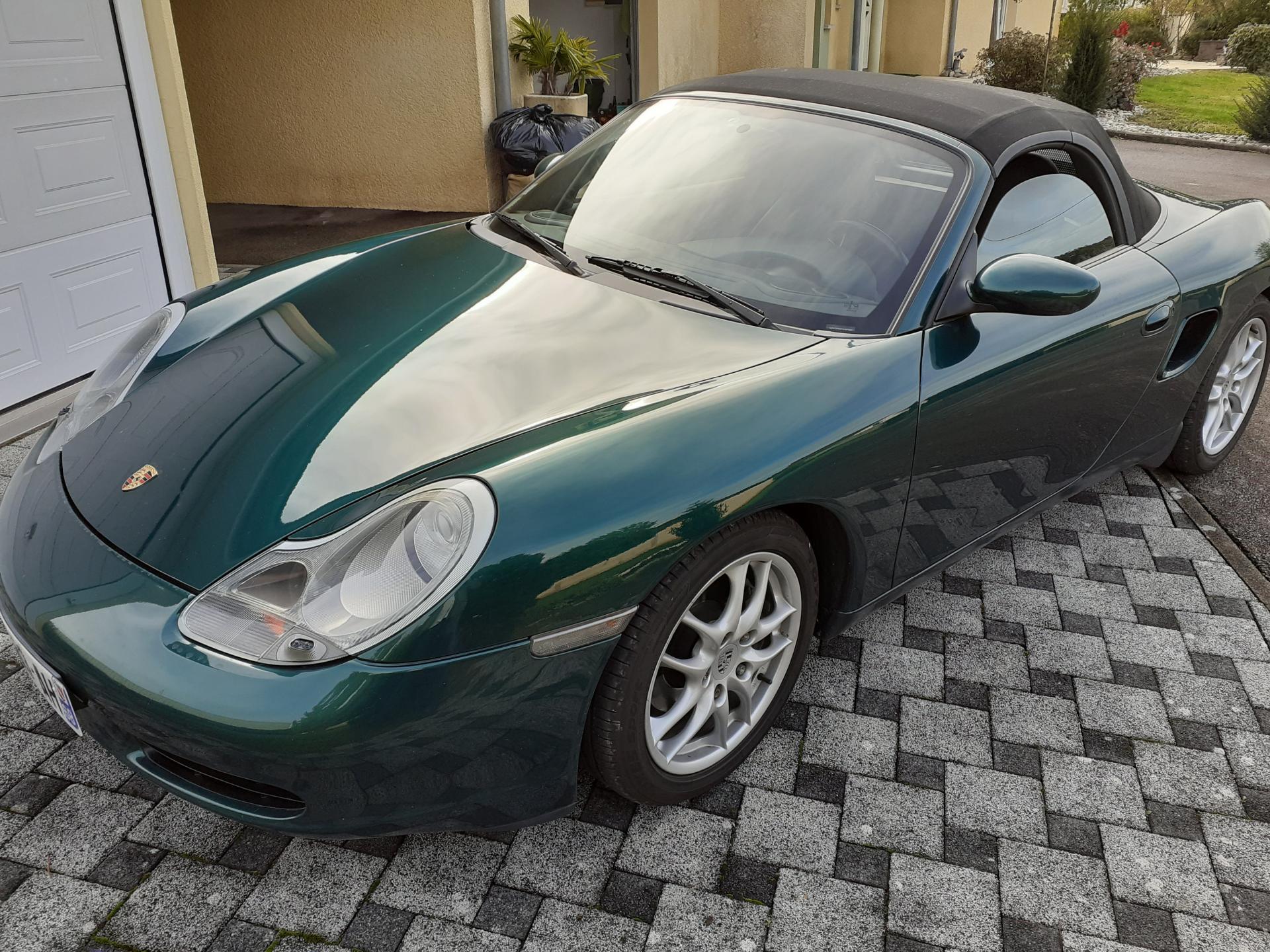 Porsche Boxster 986 2.7 220 ch (Boxster)