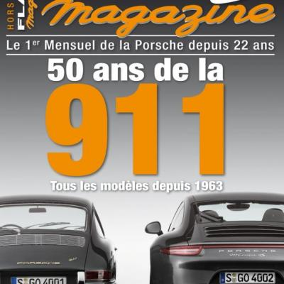 Hors série Flat 6 Magazine : 50 ans de la 911