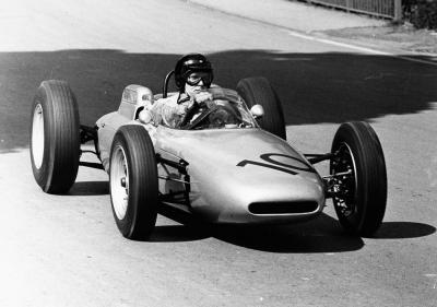 Dan gurney at the solitude 1962