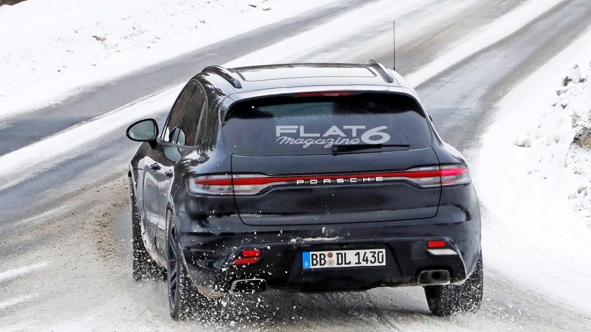 Porsche Macan Prototype 2020