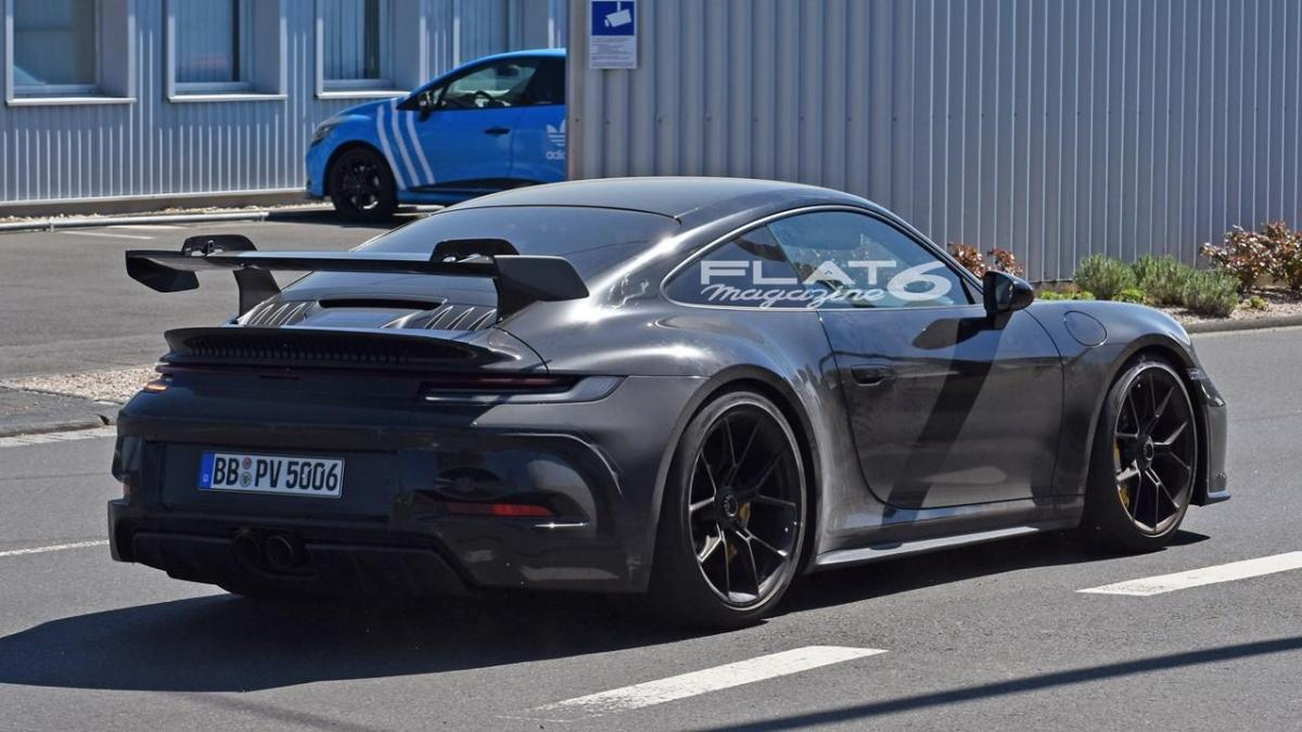Arrière 992 GT3 Porsche
