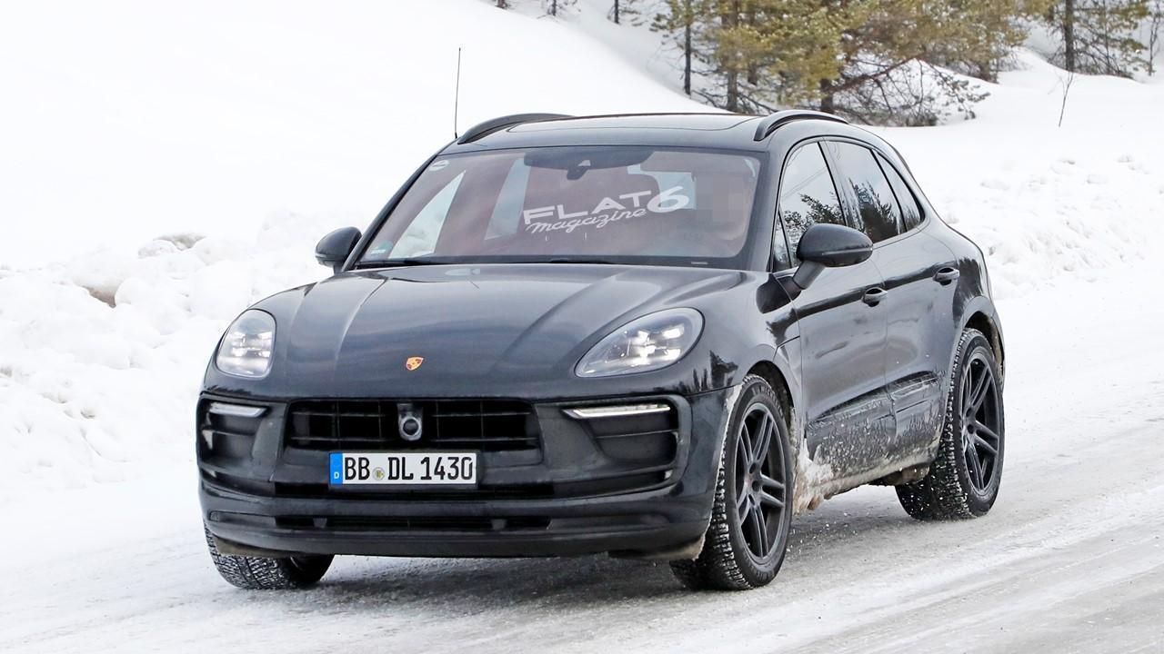 Nouveau Porsche Macan prototype